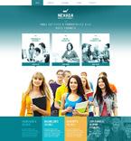 Education Website  Template 54016
