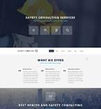 Security Website  Template 54017