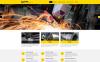 Responsivt Hemsidemall för stålarbete New Screenshots BIG