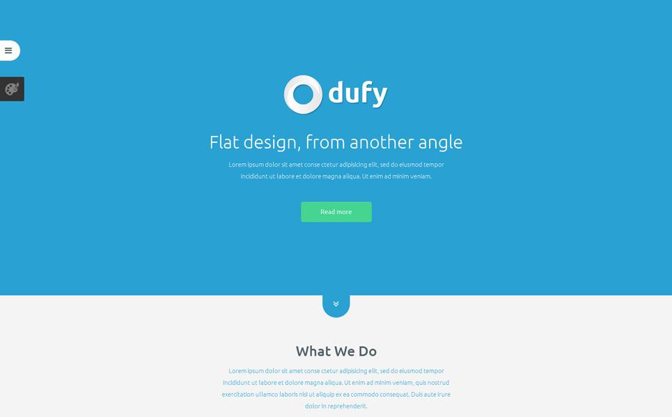 Responzivní Joomla šablona na téma Designové studio New Screenshots BIG