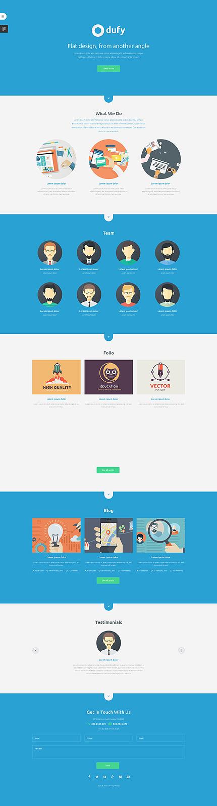 Joomla Theme/Template 54025 Main Page Screenshot