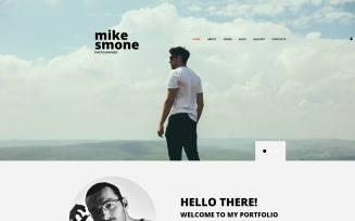 Mike Smone - Photographer Portfolio Modern Joomla Template