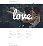 Wedding Joomla  Template 54027