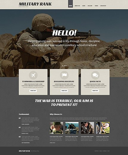 WordPress Theme/Template 54035 Main Page Screenshot