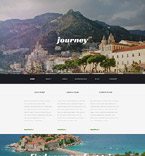 Travel WordPress Template 54044