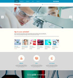 Science WordPress Template 54046