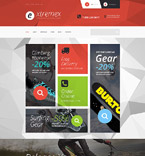 Sport WooCommerce Template 54052