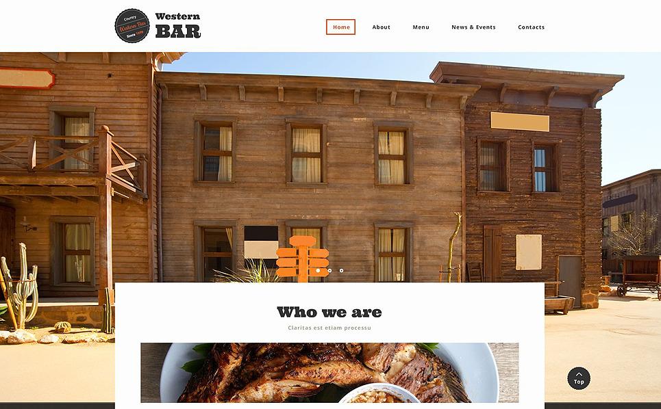 Plantilla Web Responsive para Sitio de Cafetería y Restaurante New Screenshots BIG