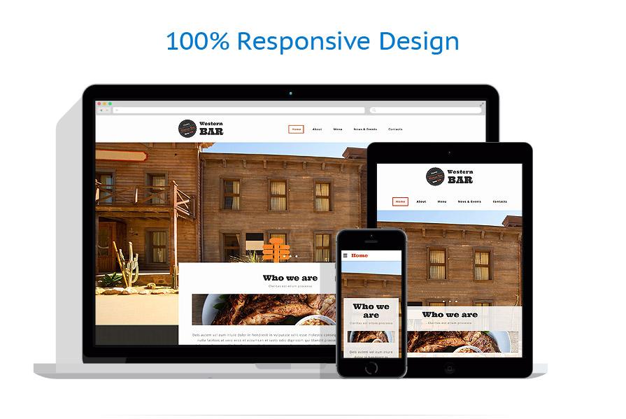 Modèles HTML5 Café et Restaurant #54057