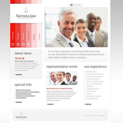 PSD макет сайта №54061