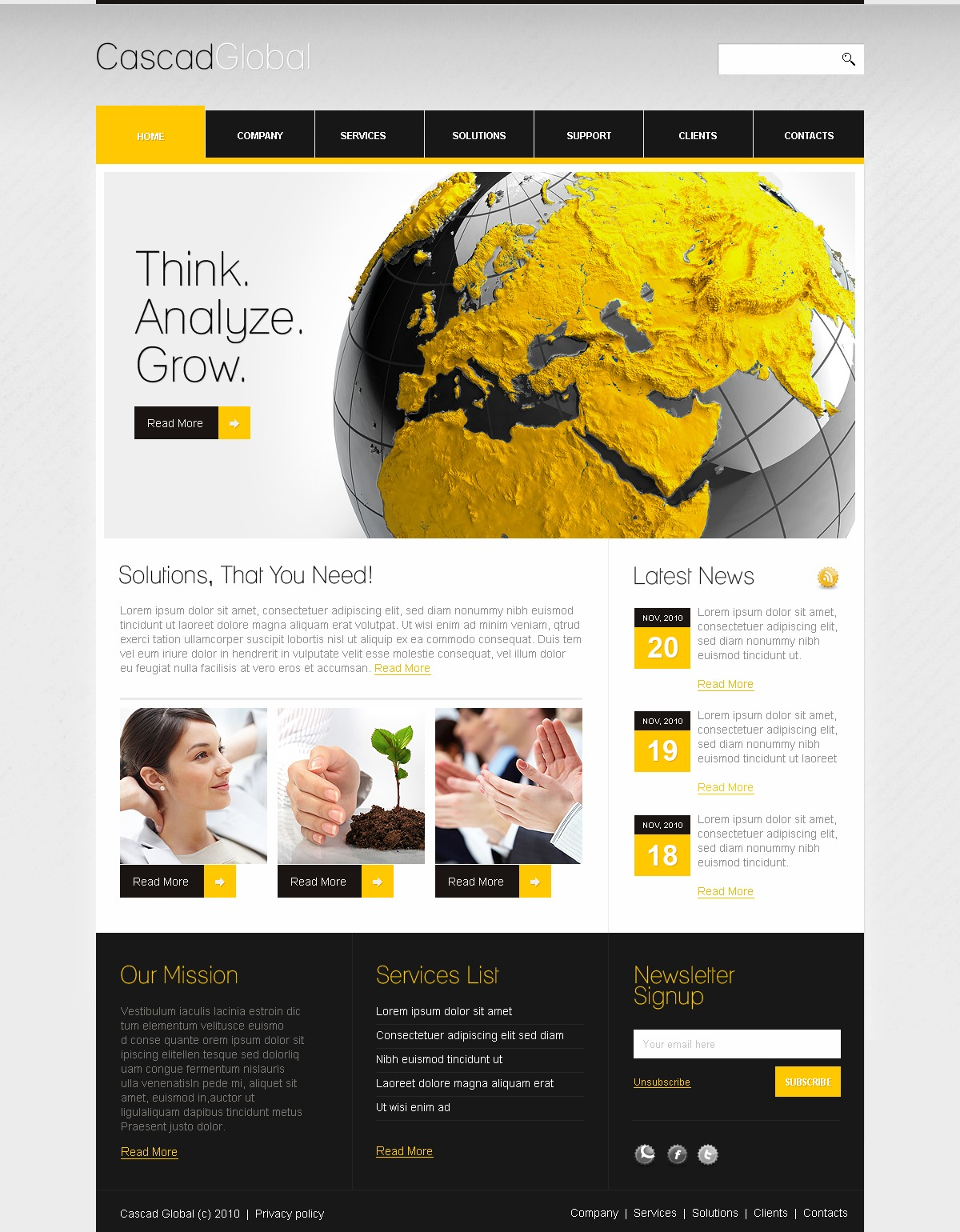 The Cascad Global Business Company PSD Design 54067, one of the best PSD templates of its kind (business, wide), also known as cascad global business company PSD template, corporate solutions PSD template, innovations PSD template, contacts PSD template, service PSD template, support PSD template, information dealer PSD template, stocks PSD template, team PSD template, success PSD template, money PSD template, marketing PSD template, director PSD template, manager PSD template, analytics PSD template, planning PSD template, limited PSD template, office PSD template, sales and related with cascad global business company, corporate solutions, innovations, contacts, service, support, information dealer, stocks, team, success, money, marketing, director, manager, analytics, planning, limited, office, sales, etc.