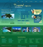 Travel PSD  Template 54069