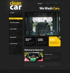Cars PSD  Template 54072