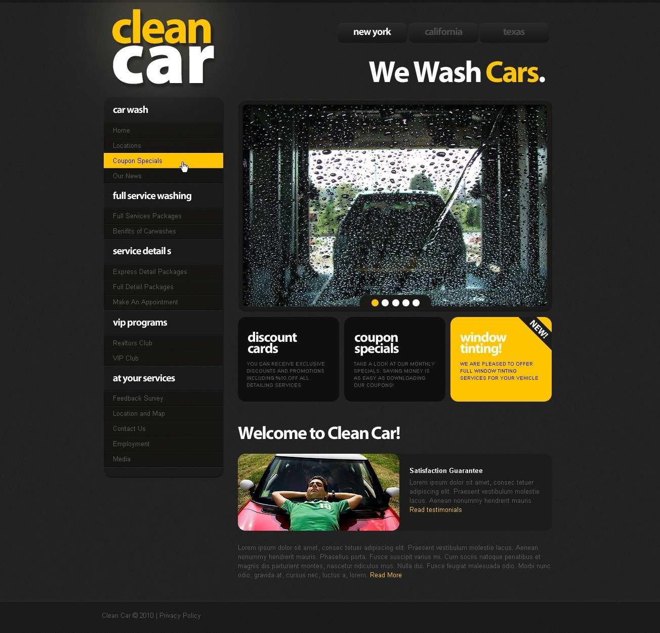 The Clean Car Wash Center PSD Design 54072, one of the best PSD templates of its kind (cars, wide, maintenance services, jquery), also known as clean car wash center PSD template, washing PSD template, staff PSD template, cleaning PSD template, oil PSD template, lube salon PSD template, wheel PSD template, covers PSD template, rinsing PSD template, water PSD template, drying PSD template, soap PSD template, polish PSD template, chassis PSD template, dirty PSD template, dashboard PSD template, hoovering PSD template, seats PSD template, cleaning PSD template, brushes PSD template, service PSD template, coupons PSD template, fund-raising and related with clean car wash center, washing, staff, cleaning, oil, lube salon, wheel, covers, rinsing, water, drying, soap, polish, chassis, dirty, dashboard, hoovering, seats, cleaning, brushes, service, coupons, fund-raising, etc.
