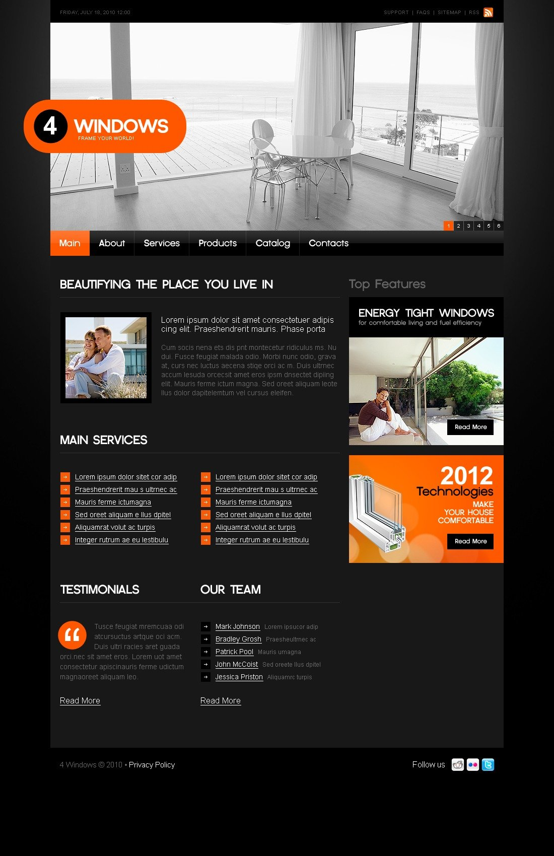 The Window Windows PSD Design 54077, one of the best PSD templates of its kind (interior & furniture, flash 8, wide), also known as window windows PSD template, construction PSD template, manufacturing PSD template, glass PSD template, frame PSD template, replacement PSD template, air PSD template, home PSD template, wood PSD template, wooden PSD template, plastic modern comfort PSD template, service company PSD template, door and related with window windows, construction, manufacturing, glass, frame, replacement, air, home, wood, wooden, plastic modern comfort, service company, door, etc.