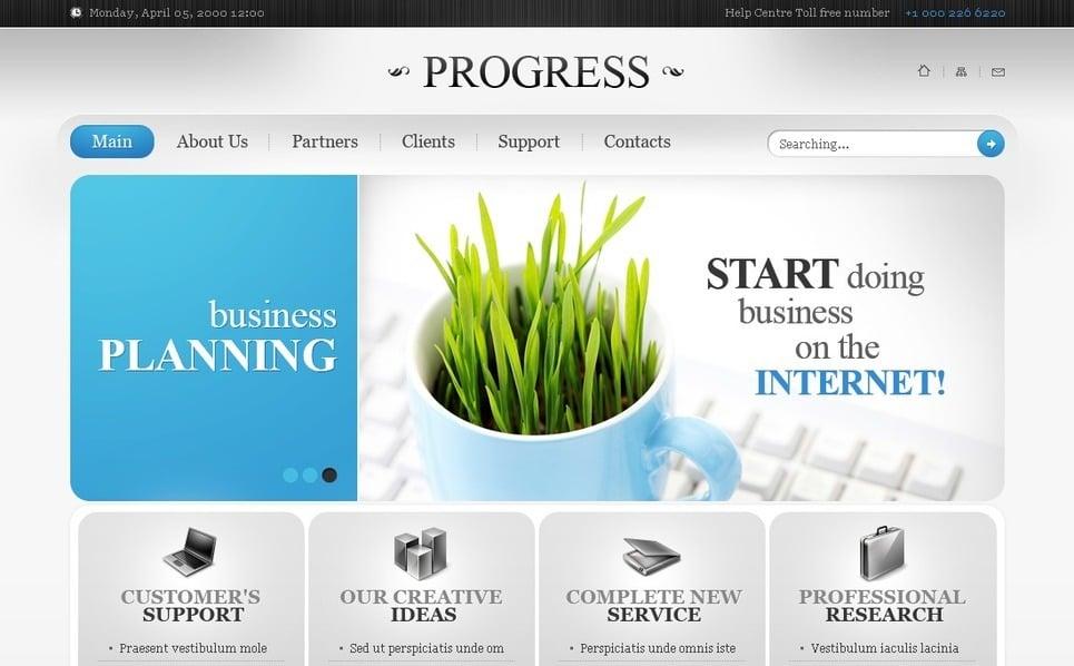 Template PSD  #54079 per Un Sito di Business e Servizi New Screenshots BIG