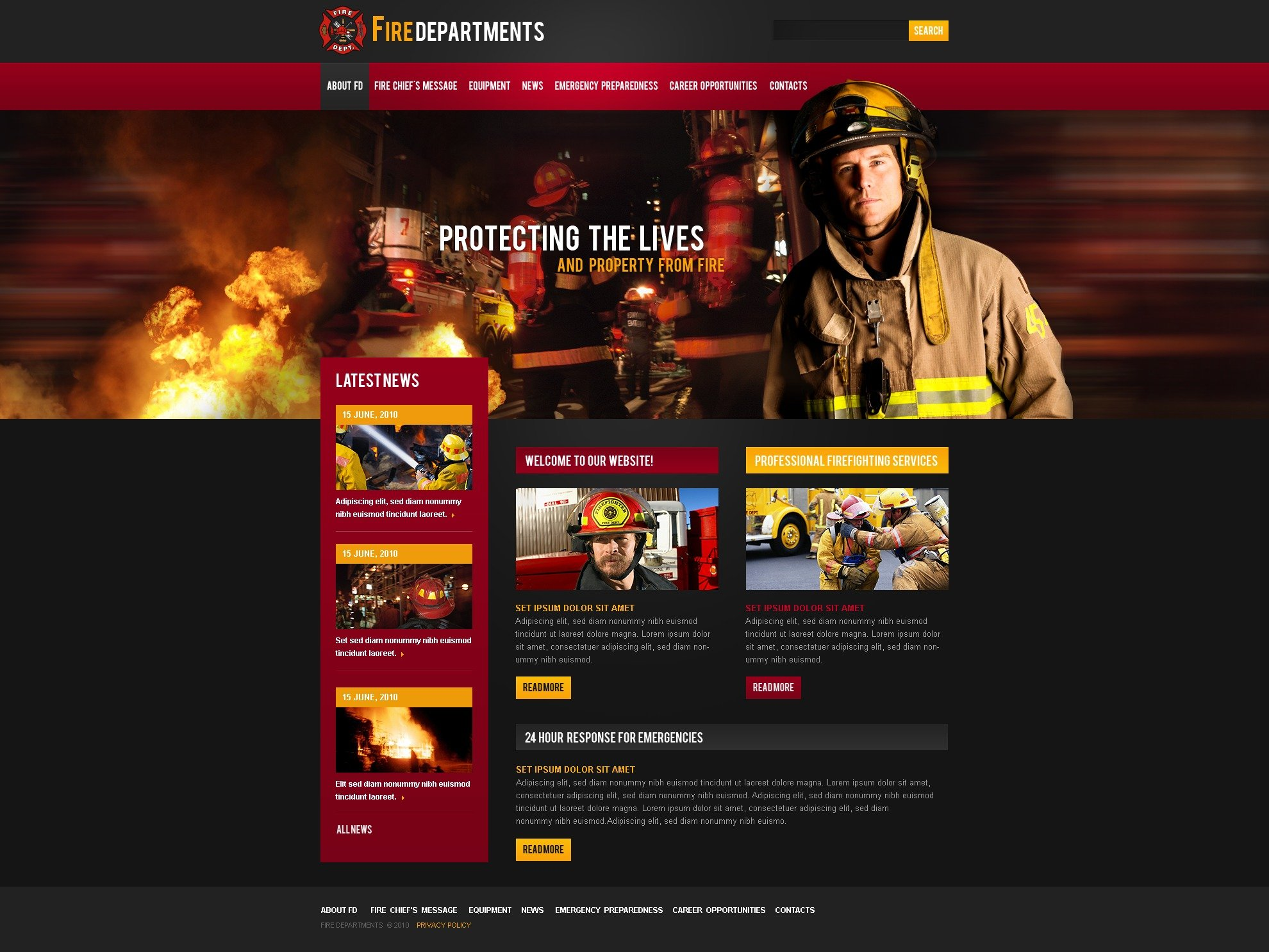 The Fire Department PSD Design 54080, one of the best PSD templates of its kind (society & culture, security, most popular, wide), also known as fire department PSD template, firemen PSD template, helmet PSD template, saving PSD template, station PSD template, water PSD template, training PSD template, courses PSD template, conflagration PSD template, alarm PSD template, firehouse PSD template, smoke PSD template, posture PSD template, sensor PSD template, nozzle PSD template, tag PSD template, foam and related with fire department, firemen, helmet, saving, station, water, training, courses, conflagration, alarm, firehouse, smoke, posture, sensor, nozzle, tag, foam, etc.