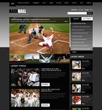 Sport PSD  Template 54081