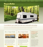 Travel PSD  Template 54083