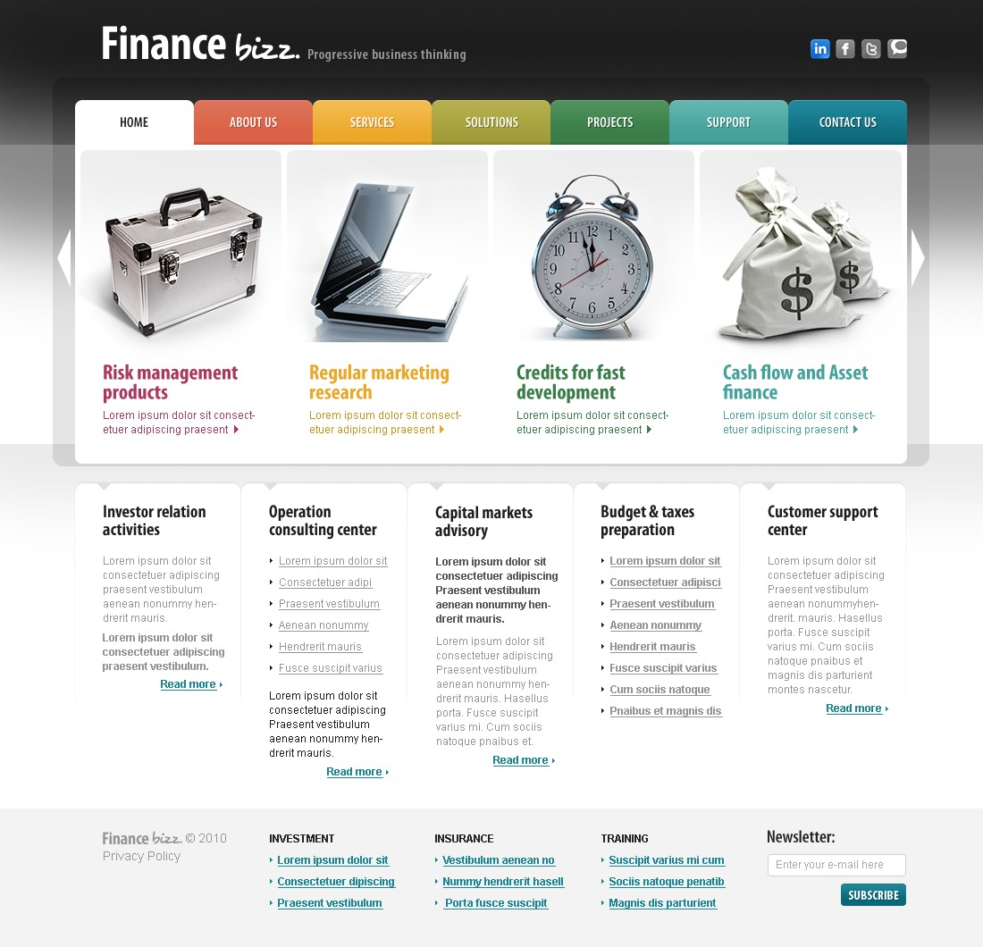 The Finance Business Company PSD Design 54090, one of the best PSD templates of its kind (business, flash 8, wide), also known as finance business company PSD template, corporate solutions PSD template, innovations PSD template, contacts PSD template, service PSD template, support PSD template, information dealer PSD template, stocks PSD template, team PSD template, success PSD template, money PSD template, marketing PSD template, director PSD template, manager PSD template, analytics PSD template, planning PSD template, limited PSD template, office PSD template, sales and related with finance business company, corporate solutions, innovations, contacts, service, support, information dealer, stocks, team, success, money, marketing, director, manager, analytics, planning, limited, office, sales, etc.