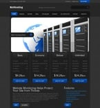 Web Hosting PSD  Template 54091