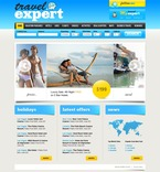 Travel PSD  Template 54095