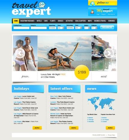 PSD макет сайта №54095