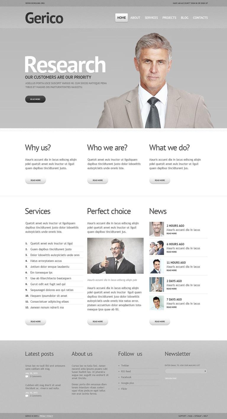 Business Responsive Joomla Template New Screenshots BIG