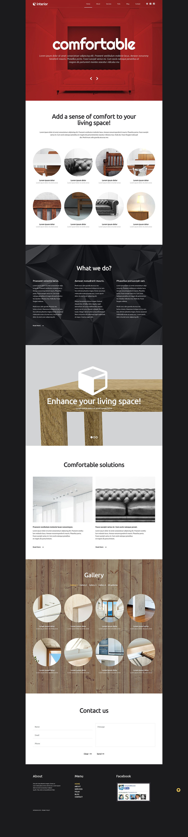 Decor and Furniture WordPress Theme New Screenshots BIG
