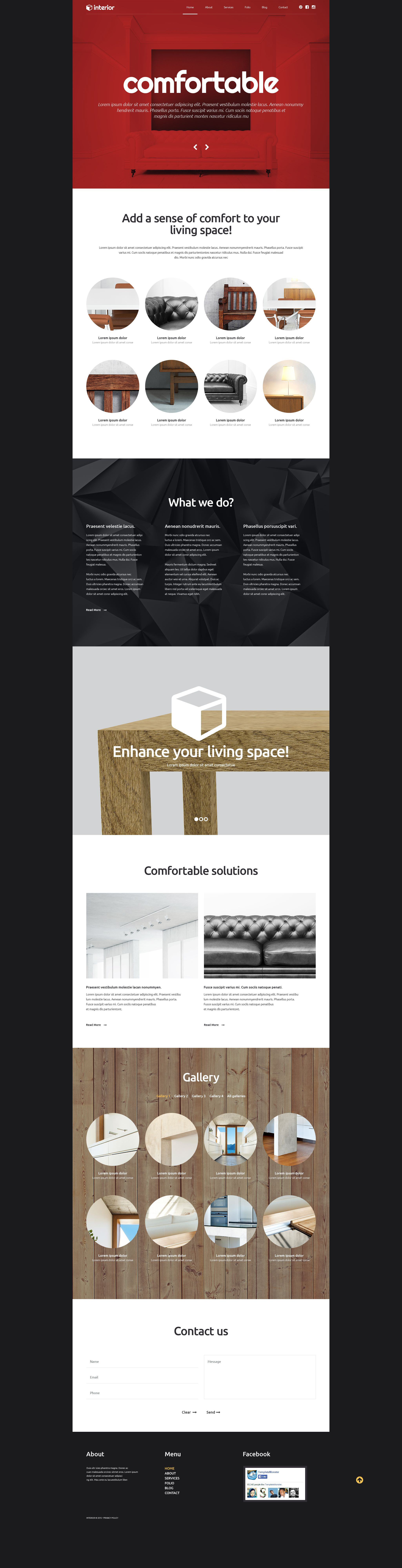 Decor and Furniture WordPress Theme - screenshot