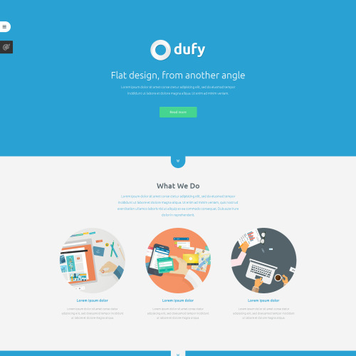 Dufy - Joomla! Template based on Bootstrap