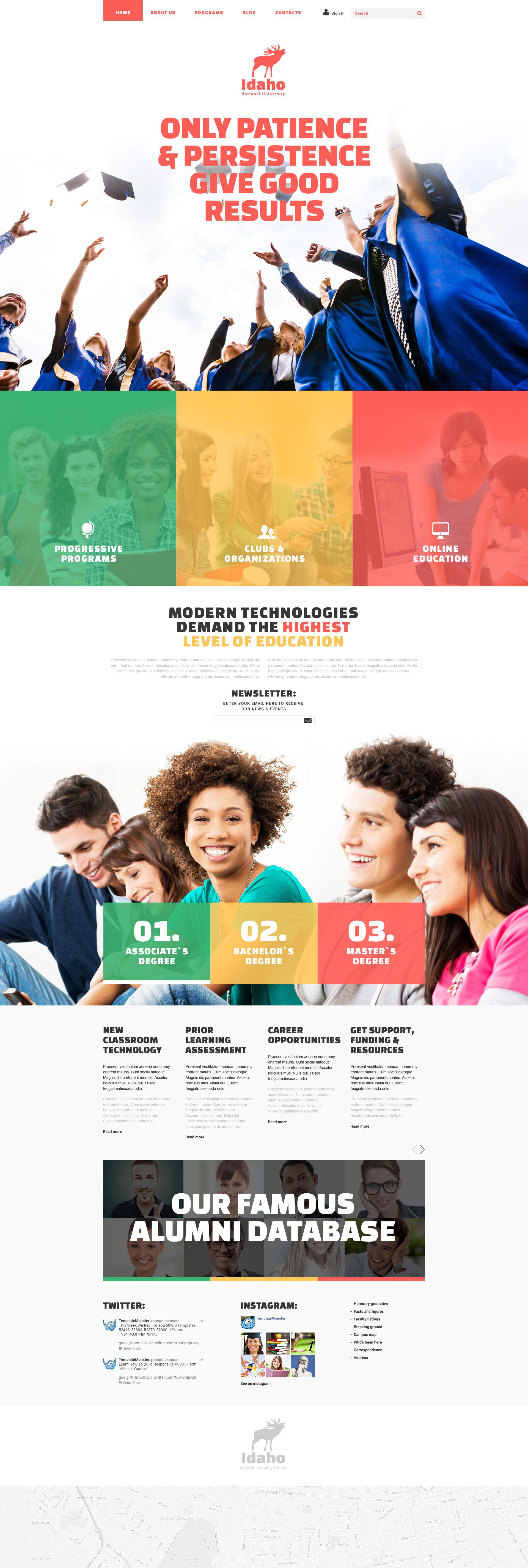 """Education"" thème Joomla adaptatif #54039"