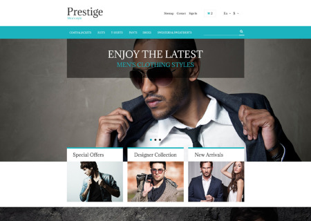 Fashion Store Free Prestashop