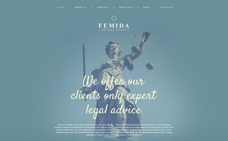 Femida WordPress Theme