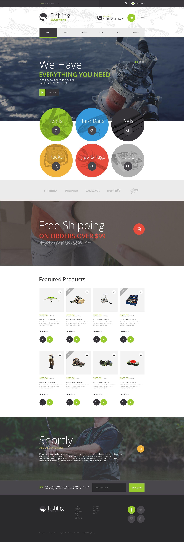Fishing Kit WooCommerce Theme - screenshot