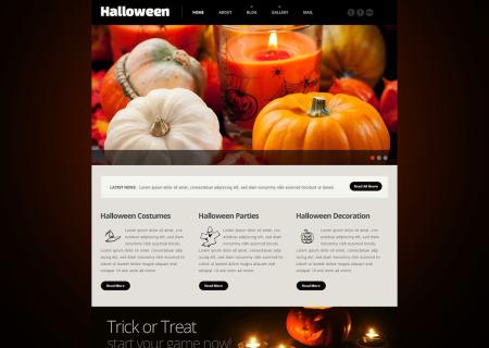 Halloween Responsive