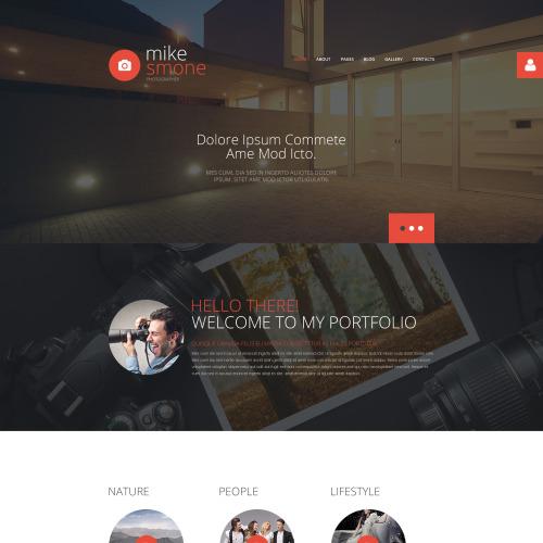 Mike Smone - Joomla! Template based on Bootstrap