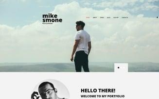 Mike Smone - Photographer Portfolio Modern Joomla Template