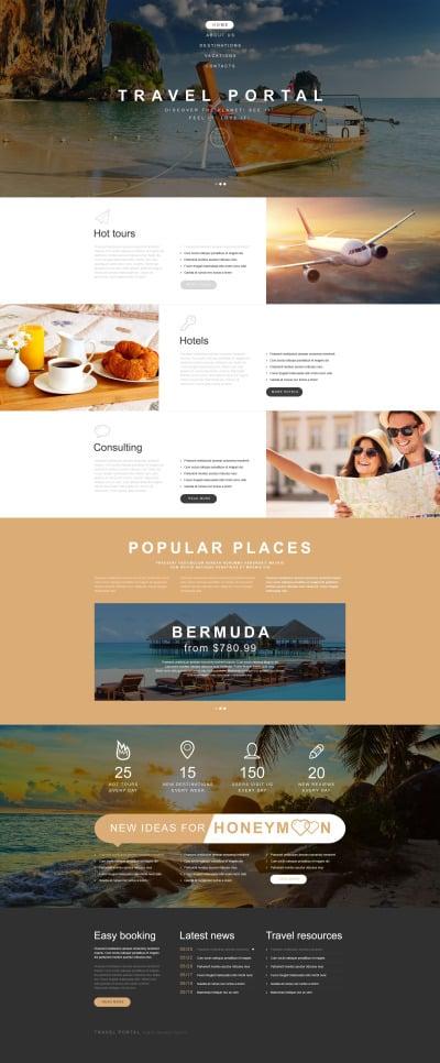 Travel Agency Muse šablona
