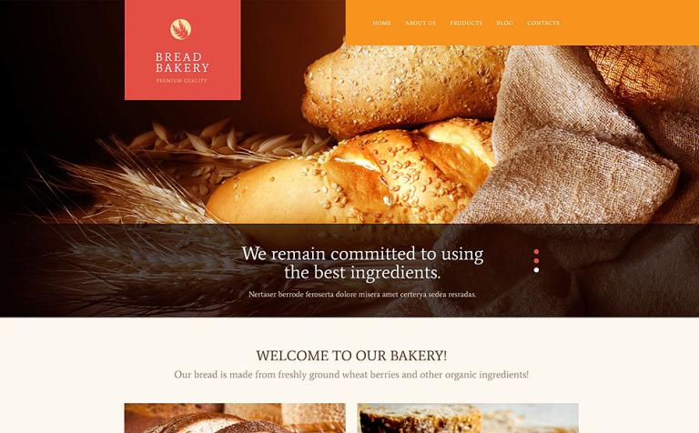 Pastries WordPress Theme