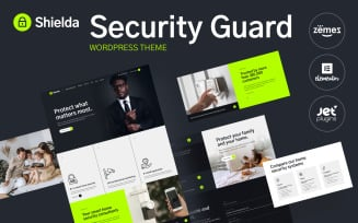 Shielda - Security Guard WordPress theme