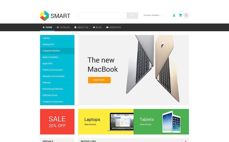 Smart Electronics Store VirtueMart Template