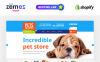 Tema de Shopify  Flexível para Sites de Lojas de Animais №54004 New Screenshots BIG