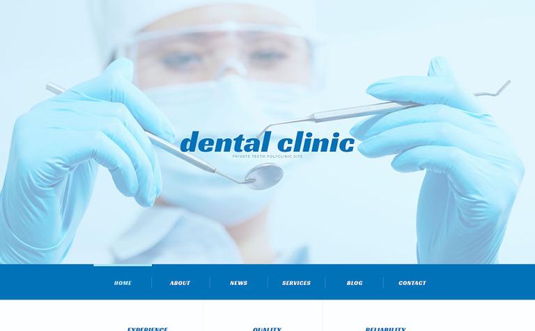 Tema de WordPress #54041 para Sitio de Odontología