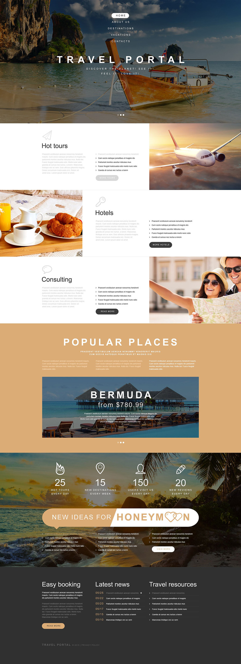 Travel Agency Muse Template New Screenshots BIG