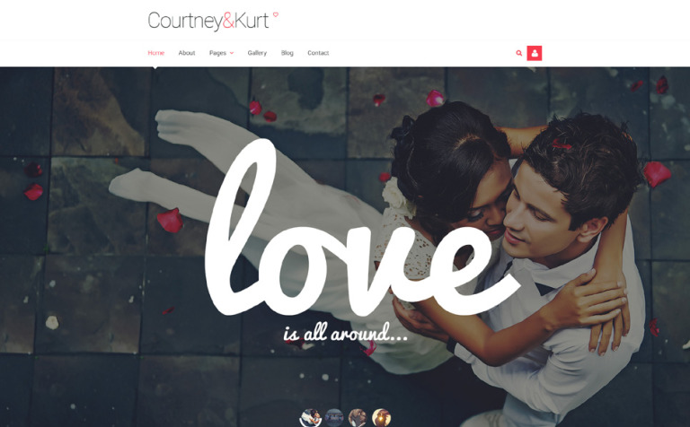 Wedding Album Responsive Joomla Template