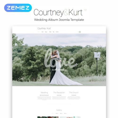 Courtney & Kurt - Responsive Joomla! Template