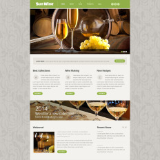Wine Responsive Website
