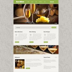 Wine website templates wine responsive website pronofoot35fo Gallery