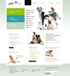 Animals & Pets PSD  Template 54101